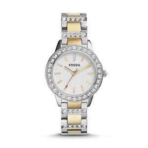 Analog White Dial Watch